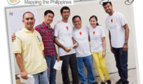 Google Mapper Pepito and Dennis together with Geo Advocates from India, Avel Manansala of Gensantos.com and Aileen Apollo of Google.