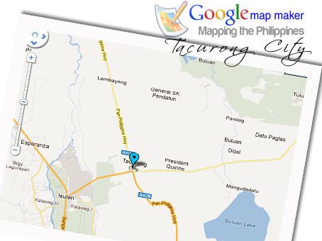 Google Mapping Tacurong City! (Logo concept by Berniemack Arellano)