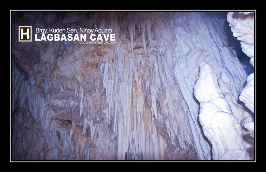 "A ""ceiling"" of Lagbasan Cave looks like this"